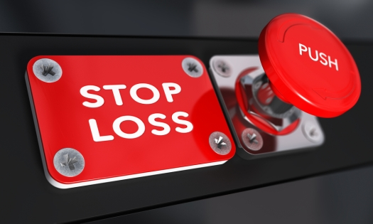 You count on your stop loss to keep you out of trouble