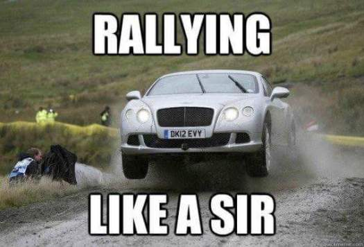 rallying like a sir